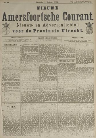 Nieuwe Amersfoortsche Courant 1896-10-21