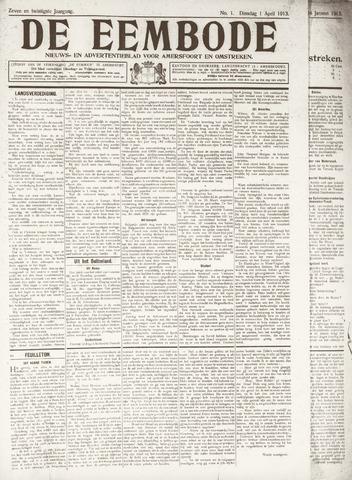 De Eembode 1913-04-01
