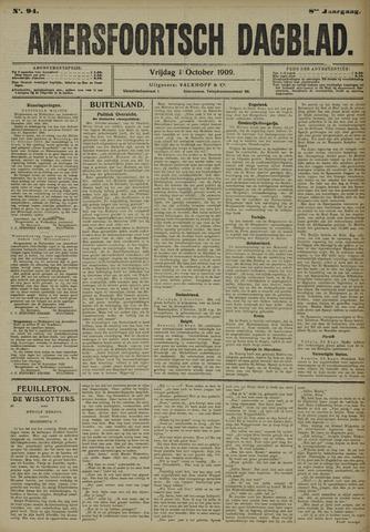 Amersfoortsch Dagblad 1909-10-01