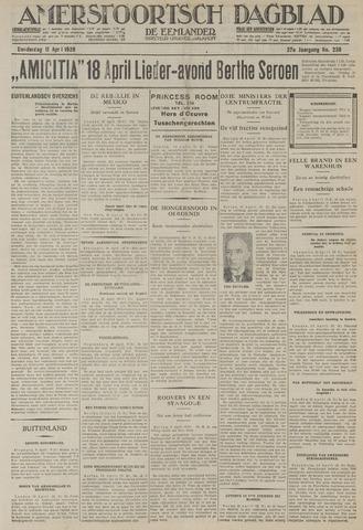 Amersfoortsch Dagblad / De Eemlander 1929-04-11
