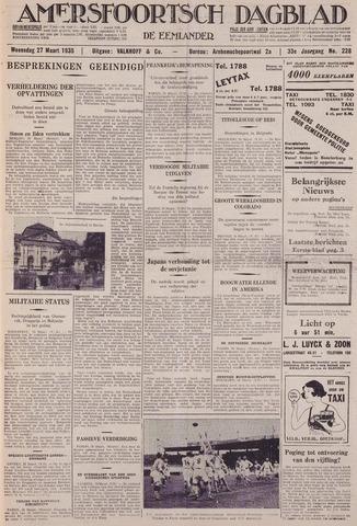 Amersfoortsch Dagblad / De Eemlander 1935-03-27