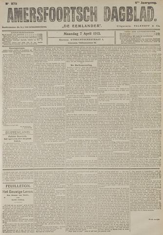 Amersfoortsch Dagblad / De Eemlander 1913-04-07