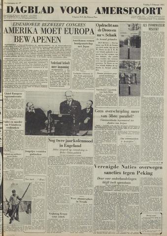 Dagblad voor Amersfoort 1951-02-02