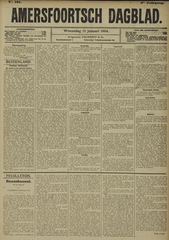 Amersfoortsch Dagblad 1904-01-13