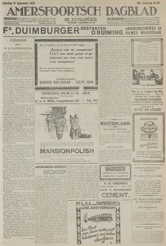 Amersfoortsch Dagblad / De Eemlander 1929-09-14