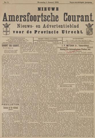 Nieuwe Amersfoortsche Courant 1910-01-05