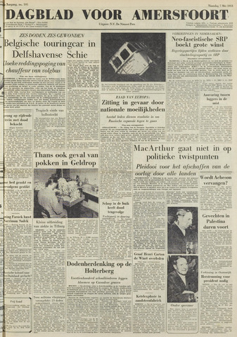 Dagblad voor Amersfoort 1951-05-07