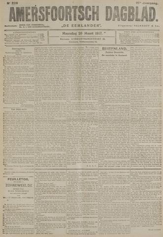 Amersfoortsch Dagblad / De Eemlander 1917-03-26