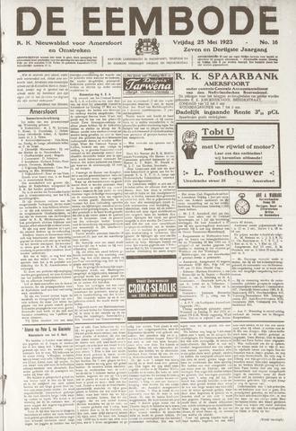 De Eembode 1923-05-25