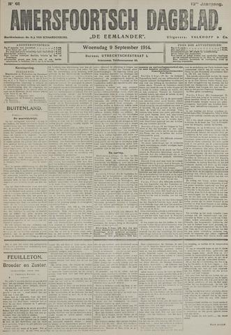 Amersfoortsch Dagblad / De Eemlander 1914-09-09