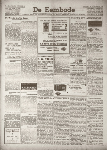 De Eembode 1937-11-26