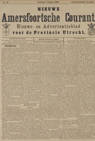 Nieuwe Amersfoortsche Courant 1899-10-07