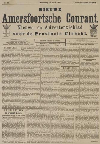Nieuwe Amersfoortsche Courant 1905-04-26
