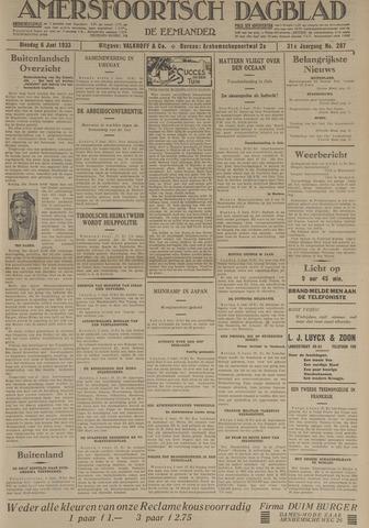 Amersfoortsch Dagblad / De Eemlander 1933-06-06