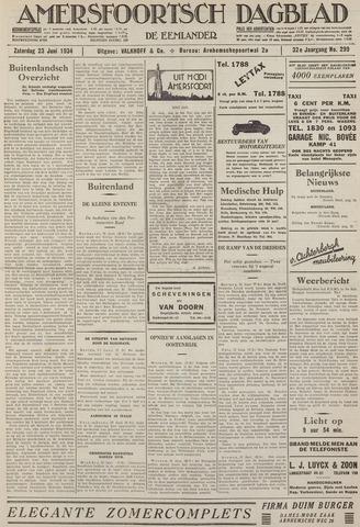 Amersfoortsch Dagblad / De Eemlander 1934-06-23