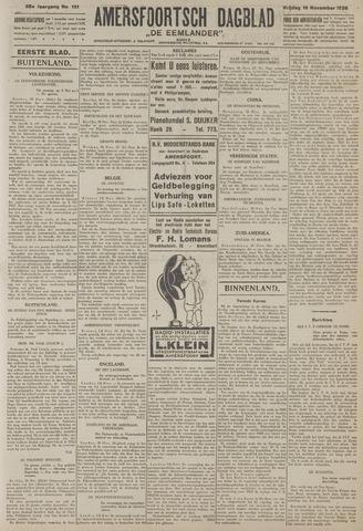 Amersfoortsch Dagblad / De Eemlander 1926-11-19