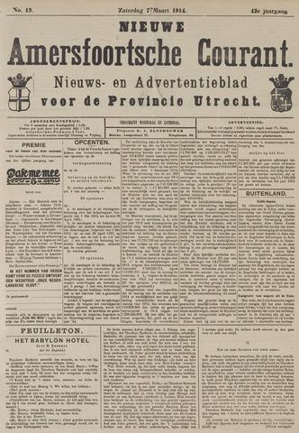 Nieuwe Amersfoortsche Courant 1914-03-07