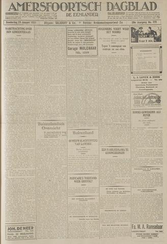 Amersfoortsch Dagblad / De Eemlander 1931-01-29