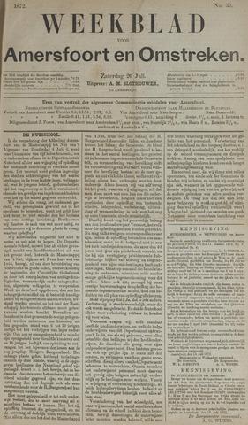Weekblad voor Amersfoort en Omstreken 1872-07-20