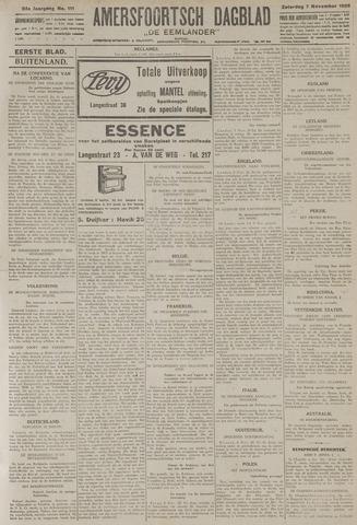 Amersfoortsch Dagblad / De Eemlander 1925-11-07
