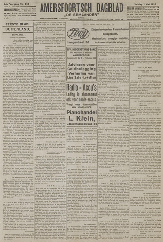 Amersfoortsch Dagblad / De Eemlander 1926-05-07