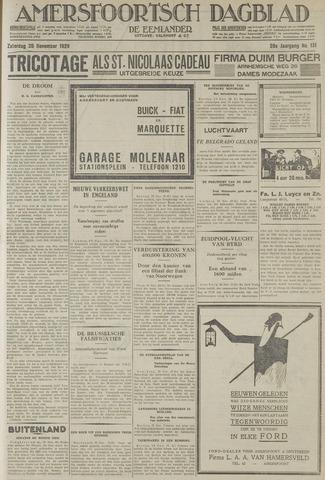 Amersfoortsch Dagblad / De Eemlander 1929-11-30