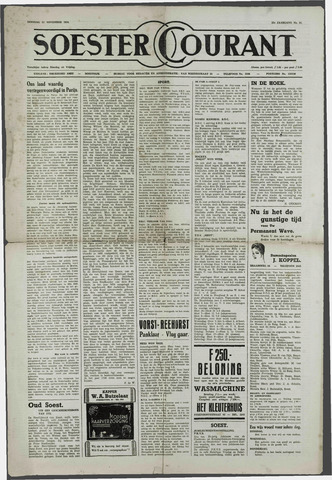 Soester Courant 1954-11-23