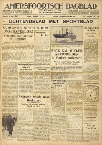 Amersfoortsch Dagblad / De Eemlander 1939-05-01