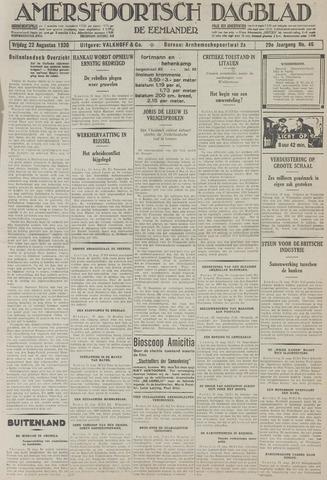Amersfoortsch Dagblad / De Eemlander 1930-08-22