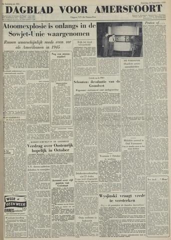 Dagblad voor Amersfoort 1949-09-24