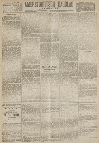 Amersfoortsch Dagblad / De Eemlander 1918-04-09
