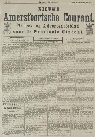 Nieuwe Amersfoortsche Courant 1908-07-29