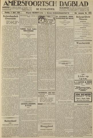 Amersfoortsch Dagblad / De Eemlander 1932-04-05