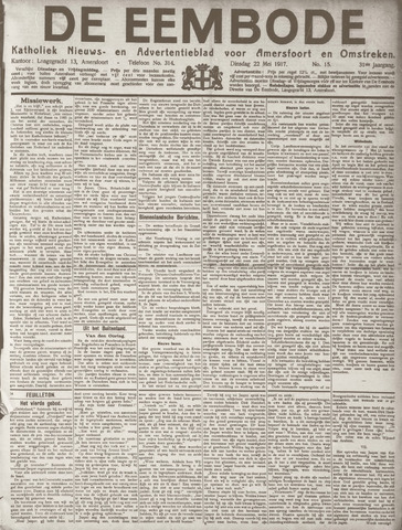 De Eembode 1917-05-22