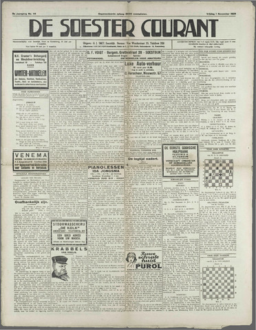Soester Courant 1929-11-01