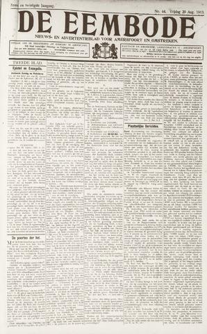 De Eembode 1913-08-29