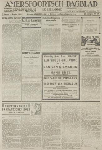 Amersfoortsch Dagblad / De Eemlander 1930-10-14