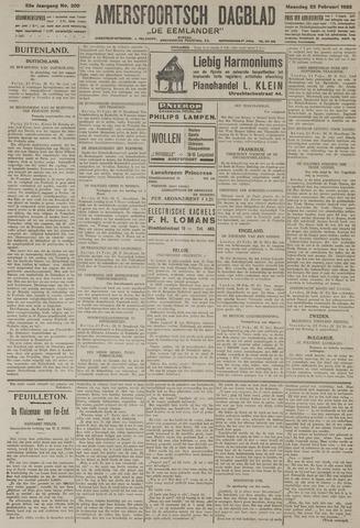 Amersfoortsch Dagblad / De Eemlander 1925-02-23