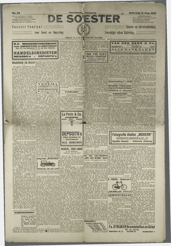 Soester Courant 1926-08-14