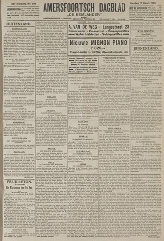 Amersfoortsch Dagblad / De Eemlander 1925-03-17