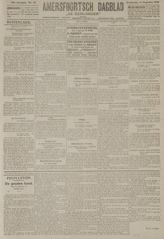 Amersfoortsch Dagblad / De Eemlander 1925-08-13