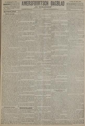Amersfoortsch Dagblad / De Eemlander 1919-04-25