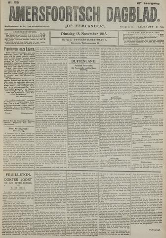 Amersfoortsch Dagblad / De Eemlander 1913-11-18