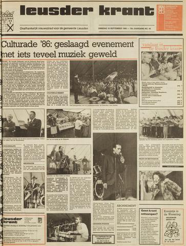 Leusder Krant 1986-09-16