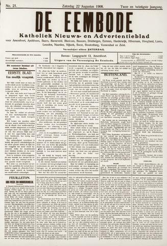 De Eembode 1908-08-22