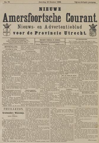 Nieuwe Amersfoortsche Courant 1906-10-20