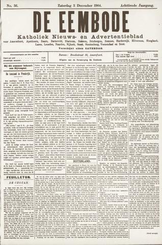 De Eembode 1904-12-03