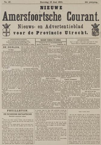 Nieuwe Amersfoortsche Courant 1915-06-12