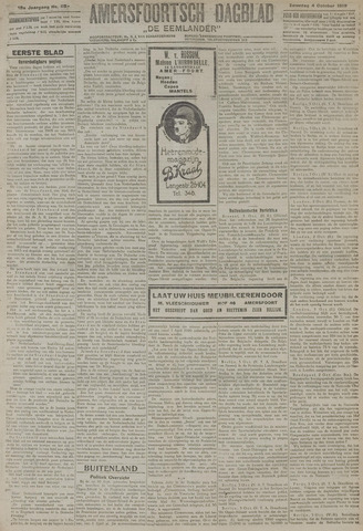 Amersfoortsch Dagblad / De Eemlander 1919-10-04