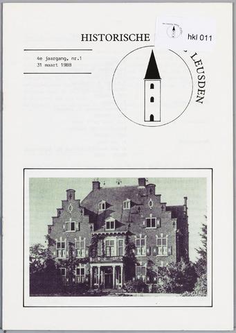 Historische Kring Leusden 1988